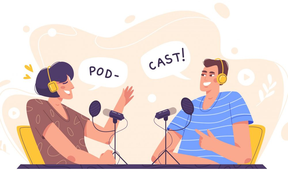 Podcast and webcast dubbing